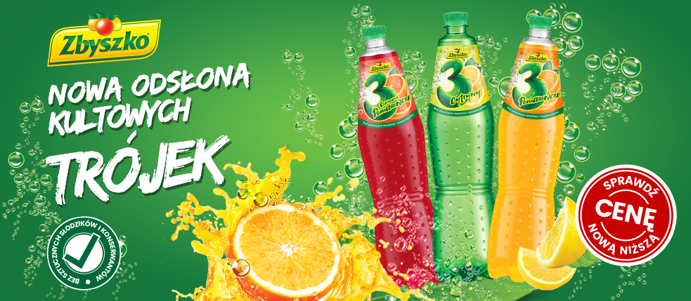 A refreshing twist: the iconic trio gets a new look!