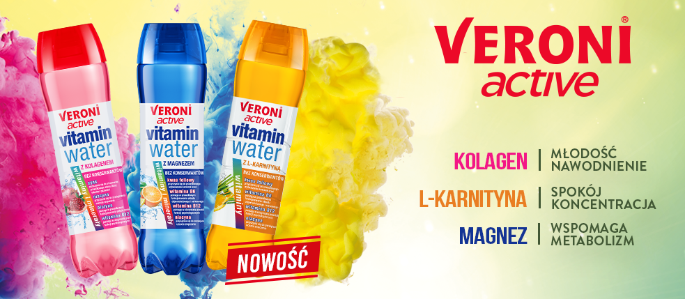 Nowy Vitamin Water L-Karnityna