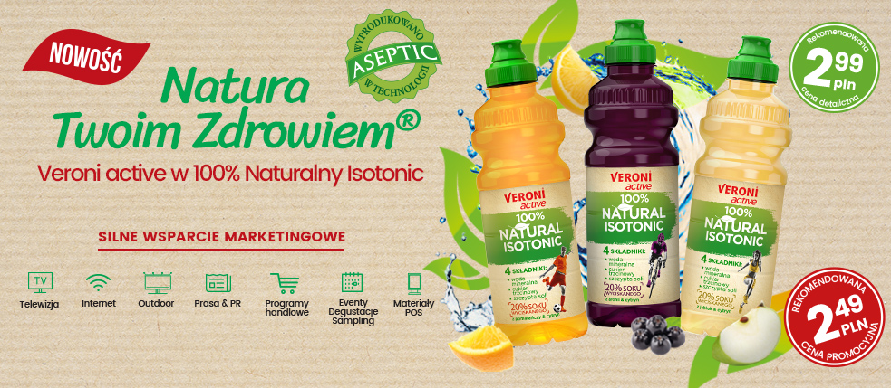 Veroni active 100% Natural Isotonic