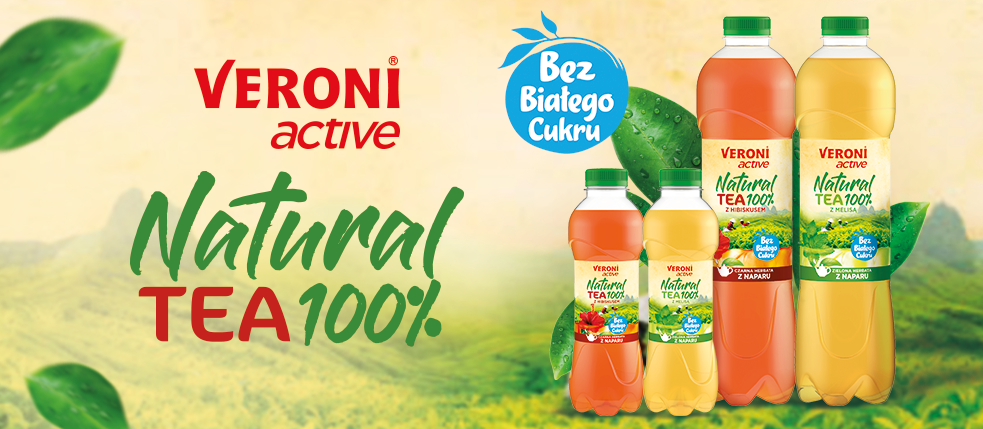 New Veroni active Natural Tea