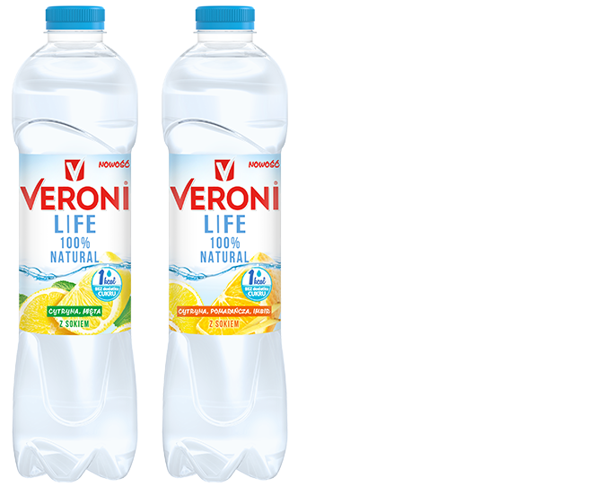 Veroni LIFE non carbonated