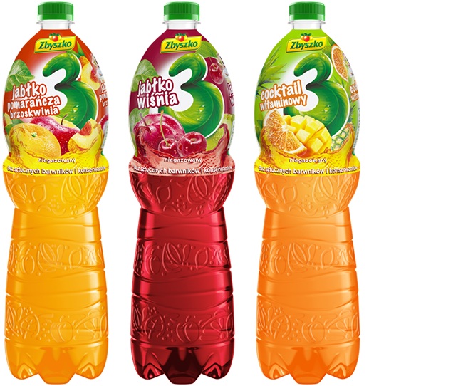 3 Fruits non carbonated