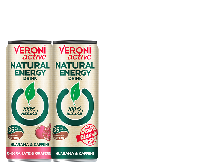 Veroni active Natural Energy Drink