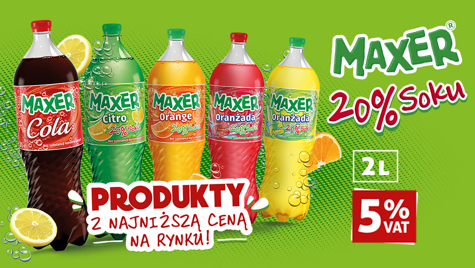 Carbonated MAXER 2L - new version